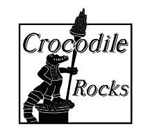 CROCODILE ROCKS logo