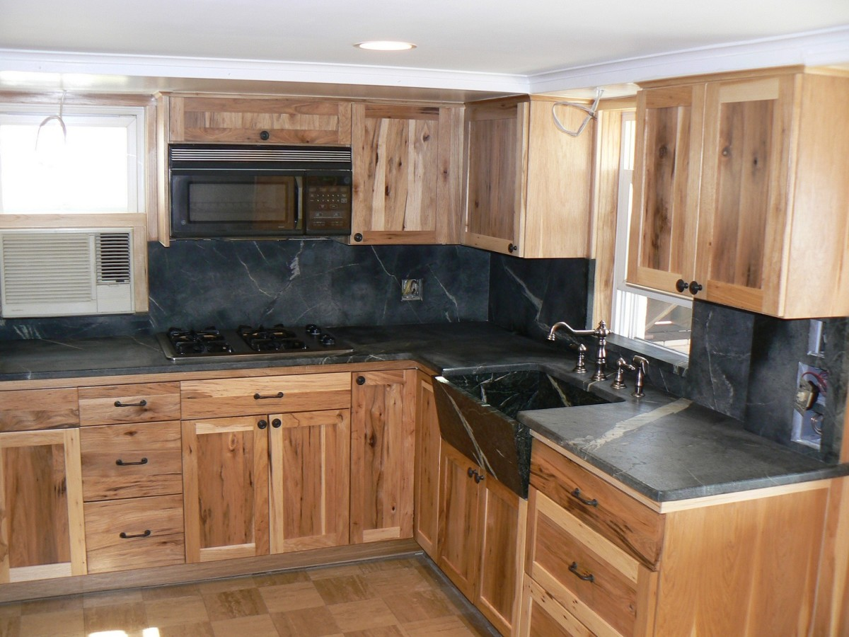 Gallery Of Soapstone Kitchen Countertops With Various Cabinet Choices